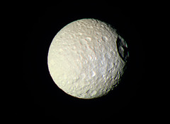 Mimas - October 22 2016 (Kevin M. Gill) Tags: saturn mimas deathstar cassini nasa jpl space