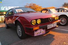 Alfa Romeo GTV (xwattez) Tags: old france car racecar grande italian automobile voiture gtv transports alfaromeo halle ancienne 2014 italienne téléthon véhicule lunion