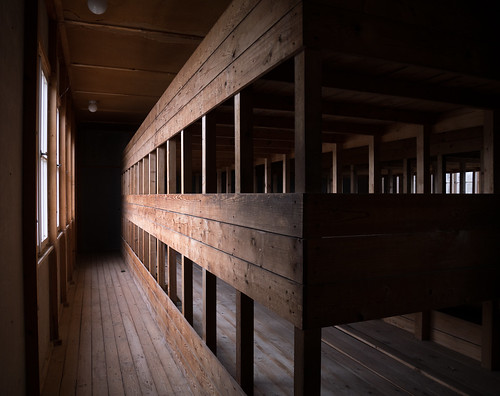 Bunk beds, Dachau, Bavaria