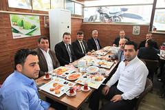 Başkan Demirci, Esnaflara Konuk Oldu