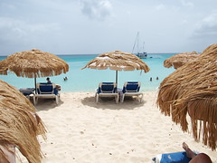 Beach in Antigua.