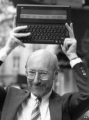 Launch of the Z88 (Rick Dickinson) Tags: sinclair clivesinclair z88 sinclairz88