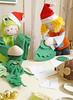 Corte as peças com o auxílio do molde (Ateliê Bonifrati) Tags: tree cute natal diy craft árvore tutorial pap molde passoapasso bonifrati craftchristmas natalcraft