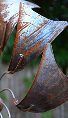 Rusted Whirlygig (pjpink) Tags: metal virginia rust january rusty richmond rusted northside weathered ironwork rva whirlygig pjpink ginterpark 2015w