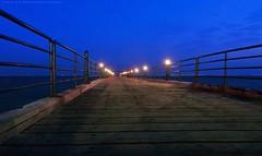 Morning (khalid almasoud) Tags: morning bridge blue way landscape photography lights marine photographer time sony scene calm kuwait khalid   greatphotographers photographyrocks almasoud   dscrx100m2 sonyrx100ii