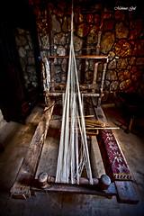 loom in the gloom (mehmetgul72) Tags: life wood old canon carpet handmade traditional wide culture cyprus naturallight tools 16mm lowkey loom windowlight 5dmark