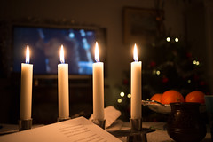Candles (emilwestin) Tags: christmas canon eos lights candles m 22mm efm eosm efm22mm