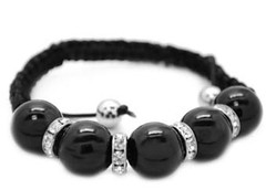 5th Avenue Black Bracelet P9112-5-1