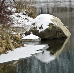 rock (SusanCK) Tags: snow landscape leavenworth susancksphoto