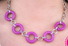 Glimpse of Malibu Purple Necklace K2A P2420A-4