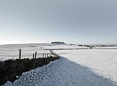 The Billing, near Yeadon in Yorkshire (Simon Verrall) Tags: snow yorkshire leeds drystone yeadon thebilling billinghill