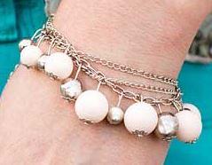 5th Avenue White Bracelet K2 P9410A-4