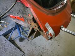 Beetle dismantled (Ronald_H) Tags: vw bug mexico nokia mine beetle jeans 1983 1020 henk mexiko kfer fusca restauration 2015 vocho lumia 15k deenen jn78jz