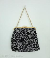 Vintage Handbag Purse (thisbluebird) Tags: vintage purse handbag vintagehandbag framebag beadedbag vintagepurse thisbluebird