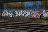 Moral / Neka / Dukes / Cos (Alex Ellison) Tags: urban graffiti boobs tag railway line graff ac extinguisher cos cosa dukes moral trackside dds allcity neka pws northwestlondon cbm 1t nekah neks paintwasters