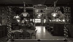 The Rustic#68 (Crick3) Tags: pine bar lights restaurant rustic cheers pooltable dubois wy elkheads cheers2 cheers3 cheers4 cheers5 cheers6 cheers7 cheeredonbythepigsty