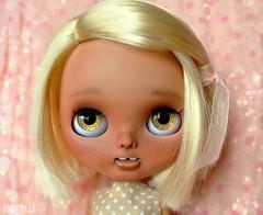 Tanika (Customized teethy Blythe doll)