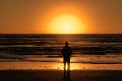Evening Meditation - [Explored] (charhedman) Tags: ocean california sunset beach encinitas