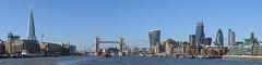 London Cityscape (Loe Giesen) Tags: london thames towerbridge shard saintpaulscathedral gerkin walkietalkie themonument butlerswharf cheesegrater theems generalpostofficetower
