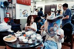 Spacing Out (Jon Siegel) Tags: people hk men classic breakfast hongkong nikon women eating 14 dimsum 24 28 diners cultural 1424 d810  linheungteahouse nikkor142428