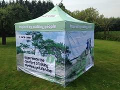 Quick Folding Tent  met foto print