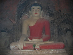 Sitting Buddha Bagan