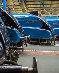 """Mallard"" (andyrousephotography) Tags: york museum train br pacific engine railway loco steam locomotive mallard a4 nrm nationalrailwaymuseum preservation liner 4468 steamloco eos5d thegreatgathering 5dmkiii 5d3 mallard75th"