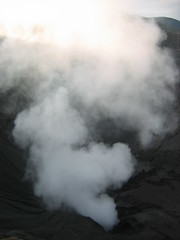 Smoke Filled Crater