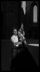 Tuscany Wedding (Rikspix1) Tags: wedding italy monochrome canon couple tuscany lowkey