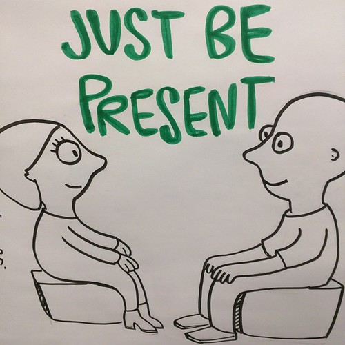 Just be present. #wiaddc by dnkbdotcom, on Flickr