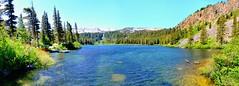 Twin Lakes Pano, Mammoth California (Explore Feb 22, 2015 #234) (Joe Lach) Tags: california trees panorama mountain lake snow boats explore alpine mammoth twinlakes mammothlakes inyonationalforest monocounty joelach