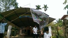 Seifenblasen in Behinderteneinrichtung in Ittapana, Sri Lanka 8