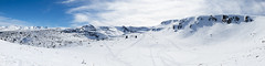 2x4K panorama from    (VasilRaev) Tags: panorama mountain snow ski sport landscape high bulgaria rila resolution piste 8640x2160