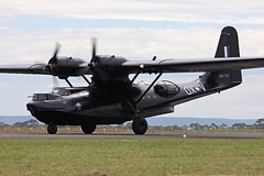 Black Cat (3) (joolsgriff) Tags: catalina consolidated raaf avalon hars ymav vhpbz australianinternationalairshow pby6a a24362