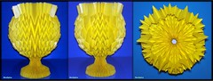 Paper Goblet With Fractal Folds Horizontally 8/13 (NeoSpica / NeoLiveArt) Tags: geometric digital paper design origami structure vase fold curved tessellation folding papercraft chalice goblet pleated corrugations parametric pleat оригами 折纸 кубок 纸艺 fractalfolds parametricfolding techniquesfolding origamigoblet 摺紙杯 бумагаискусства कागजकला papergoblet
