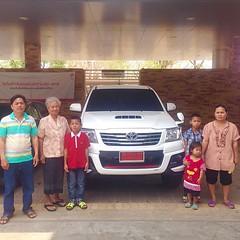 ยินดีต้อนรับ...สู่ครอบครัวโตโยต้า #TOYOTA เติมความสุข ทุกสัมผัส การส่งมอบรถยนต์ใหม่ #HILUX #VIGO #CHAMP #DOUBLE #CAB 2.5E #ABS #MT #TRD #Sportivo ผู้ครอบครอง คุณประสงค์ วงศ์สมัย ขอบคุณ...ในความไว้วางใจ ** โปรดตรวจสอบราคา / โปรโมชั่น LINE User ID akkarawat