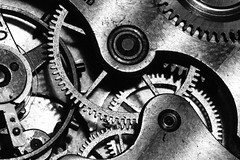 Watch Gears (bmiller912) Tags: blackandwhite bw monochrome canon watch gears pocketwatch