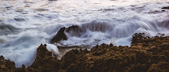 Cotton On Rocks In The Sunset (tommy kuo) Tags: water waves longexposure sea ocean samsung nx1 35mm mirrorless nature rocks coast beach landscape rye mornington morningtonpeninsula melbourne victoria australia sunset