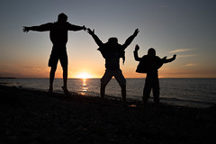 sjllands odde (Miettes de vie) Tags: coucher de solei ombre chinoise sjllands odde danemark coucherdesolei ombrechinoise sjllandsodde