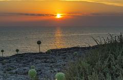 Menorcan Sunset July 11 (nicklucas2) Tags: cloud menorca sea seascape sun sunset teasel travel