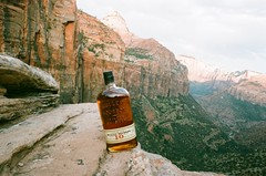 Whiskey With a View (cris_that1) Tags: park minolta national whisky zion bourbon x700 bulleit