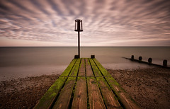 Patterns (Tractorboy1981) Tags: patterns beach clouds sky long exposure groyne sea defence wideangle wood worthing uk england sussex