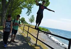 090716_hbuist_0797 (Hilbert 1958) Tags: parkourkingston kingstonsummerparkourworkshop july09 2016 kingston ontario freerunning training exercise sport fitness climbing jumping leaping