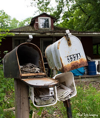 Mail is in_ (Flash Tide Imagery) Tags: old house lake building rotting mail box outdoor abandon forgotten harveys