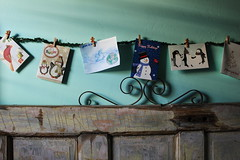 (jessica wilson {jek in the box}) Tags: christmas xmas garland holidaycards dec15 2015 makingthebed mtb15