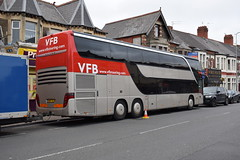 Animals As Leaders Tour 2016 Vans For Bands Tour Bus (5asideHero) Tags: animals as leaders tour 2016 vans for bands setra s431 dt double decker sleeper coach bus band transport ow05 ybj