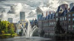 Hofvijver Den Haag (Lefers.) Tags: hofvijver vijver den haag netherlands the hague nederland buildings architecture new old nikon d7000 1224mm f4 torentje