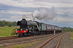 Flying Scotsman on the Waverley (garstangpost.t21) Tags: steam a3 lner 4472 northhumberland melkridge 60103 flyingscotland