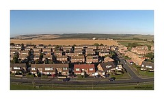 Over the hills and far away... (THE-MINIMAN) Tags: drone ariel photography arielphotography evening sky hills houses above birdseyeview view symax8g theminiman