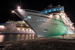 Carnival cruise (silberne.surfer) Tags: nassau uww fujixt1 wideangle lte nightshots fuji carnevalfantasy carnevalcruise bahamas xf14mmf28 langzeitbelichtung florida